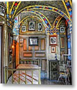 Another Bedroom At The Castle Metal Print
