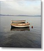 Another Boat Metal Print