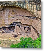 Another Dwelling On Chapin Mesa In Mesa Verde National Park-colorado  Metal Print
