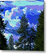 Another Fine Day On Planet Earth Metal Print