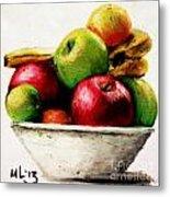Another Fruit Bowl Metal Print