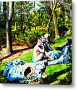Another Luncheon On The Grass Metal Print