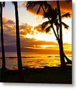 Another Maui Sunset Metal Print