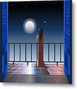 Another Night Alone Metal Print