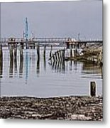 Another Old Wreck Metal Print