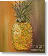 Another Pineapple Metal Print