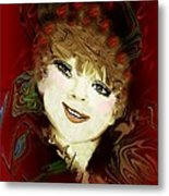 Another Pretty Face Metal Print by Doris Wood