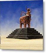 Another Roadside Attraction Metal Print