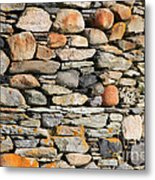 Another Stone In The Wall Metal Print