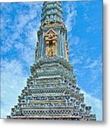 Another Stupa At Grand Palace Of Thailand In Bangkok Metal Print