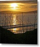 Another Sunset At Bodega Metal Print