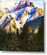Another View Of My Mountain Metal Print