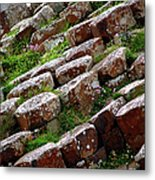 Another View Of The Giant's Causeway Metal Print