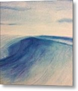 Another Wave Metal Print