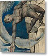 Antaeus Setting Down Dante And Virgil In The Last Circle Of Hell Metal Print