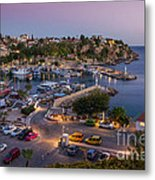 Antalya Harbour Metal Print