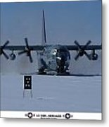 Antarctic Hercules Metal Print by David Barringhaus