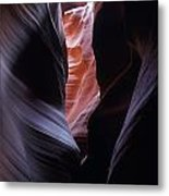Antelope Canyon 5 Metal Print by Jeff Brunton