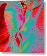 Antelope Canyon Abstract Metal Print