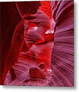 Antelope Canyon Mummy 2 Metal Print