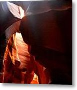 Antelope Canyon Upper 4 Metal Print by Carrie Putz