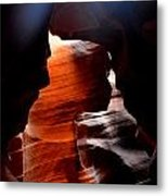 Antelope Canyon Upper 5 Metal Print by Carrie Putz
