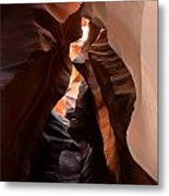 Antelope Canyon Upper Metal Print