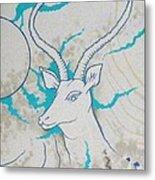 Antelope Invert Metal Print