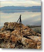 Antelope Island Sunset - 3 Metal Print