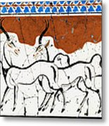 Antelope Of Akrotiri - Study No. 2 Metal Print