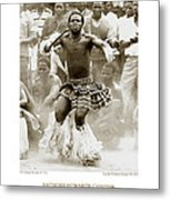 Anthony Howarth Collection - Gold - Sunday Mine Dance 2 - S.a. Metal Print