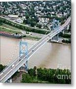 Anthony Wayne Bridge Toledo Ohio Metal Print