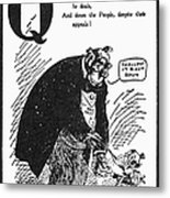 Anti-trust Cartoon, 1902 Metal Print