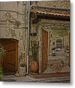 Antibes France Scene Paintings Dsc02278  Metal Print
