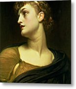 Antigone Metal Print by Frederic Leighton