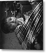 Antigua Child Metal Print