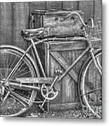 Antiquated Bike Metal Print