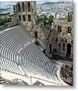 Antique Athens Metal Print