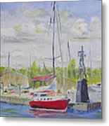 Antique Boat Museum-clayton Ny Metal Print