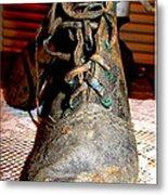 Antique Boots Metal Print