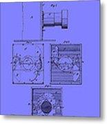 Antique Camera Patent 1883 Metal Print