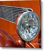 Antique Car Headlight Metal Print