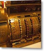 Antique Cash Register Metal Print