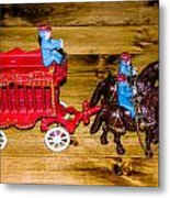 Antique Cast Iron Toy Metal Print