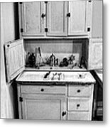 Antique Cupboard Metal Print