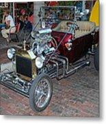 Antique Custom Hotrod Metal Print