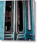 Antique Doors Metal Print