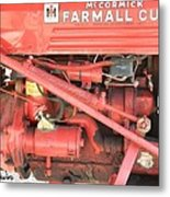 Antique Farmall Cub Engine Metal Print