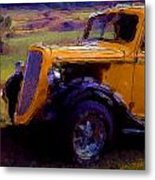 Antique Ford Metal Print