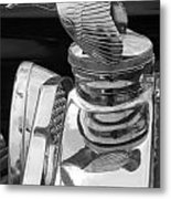 Antique Ford Hood Ornament Metal Print